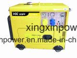 Pequeño generador diesel portable de la energía 5kw fijado con CE