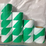 다채로운 LDPE/HDPE 줄무늬 경고 테이프