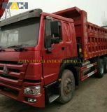 Camion-benne utilisé pour le Congo HOWO camion à benne basculante
