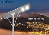 La energía solar Powered LED de luz de la calle el aparejo de iluminación exterior con sensor de 6 vatios - 120 vatios