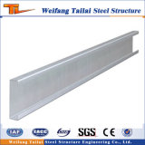 Zinc Galvanized Purlin off Steel Structure Material Building