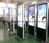46 Zoll-Fußboden-Standplatz LCD, der Bildschirmanzeige mit IR-Note und androidem System bekanntmacht