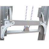 Hochfeste Vielzweckaluminiumextensions-Seil-Strichleiter