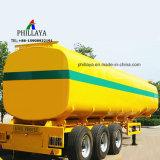 3 ejes 45000litros de gasolina diesel remolque cisterna de combustible líquido