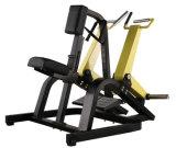 商業適性の体操装置のISO側面ロウイング、版はハンマーの強さ機械をロードした