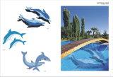 Кристаллический плитка мозаики для плавательного бассеина/кухни/ванной комнаты (MA-C529)