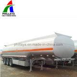 3 essieu 40m3 d'huile semi-remorque-citerne de carburant diesel