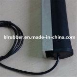 Bord en caoutchouc sans fil de sûreté de porte d'obturateur de rouleau