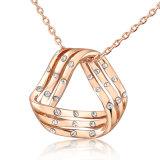مثلث مدلّاة مصنع بيع بالجملة نمو مجوهرات بلورة عقد
