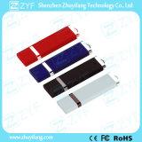 로고 (ZYF1841)를 가진 간결한 디자인 플라스틱 8GB USB 드라이브