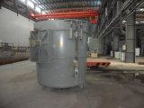 金属の鋳造のための鋳物場のひしゃく