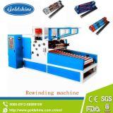 Aluminiumfolie-Rollenautomatische elektrische Bewegungsrückspulenmaschine