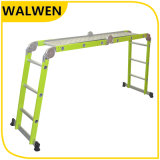 De multifunctionele Kleurrijke Vouwende Gezamenlijke Ladder van het Aluminium