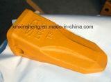 La fonderia cinese ha personalizzato i denti d'acciaio precisamente forgiati della benna