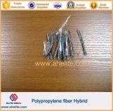 Les matériaux de construction de la construction de la prévention de fissure PP fibre hybride