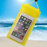 Saco impermeável do telefone, saco impermeável do telefone para o saco da praia