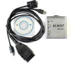 De Doos van het Metaal van de Scanner van het Kenmerkende Hulpmiddel USB van Obdii Elm327 V1.5