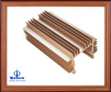Het aangepaste Profiel van het Aluminium/van het Aluminium voor Elektronika met CNC het Machinaal bewerken