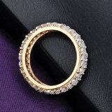 Großhandelslegierungs-VergoldungZircon entsteint Form-Schmucksache-Finger-Ring