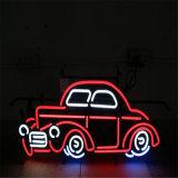 Neon rosso-chiaro di illuminazione di festa della corda al neon decorativa della flessione LED