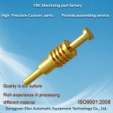 Personnaliser la précision Tournage CNC Usinage de pièces en laiton pour Machine automatique