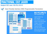 Chirurgisches CO2 Laser-System bewegliches CO2 chirurgische Bruchlaser-Behandlung-Maschine