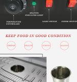 Scaldino della visualizzazione dell'alimento della Cina e vetrina (HW-900)