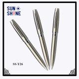 重いStainessの鋼球ポイントペンのビジネスギフトのためのハイエンド金属のペン