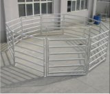 Los paneles ovales del corral de las ovejas del tubo de Australia 6rails/los paneles de acero del ganado