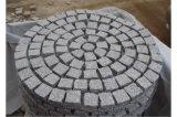 Pedra de pavimentação do granito barato ao ar livre