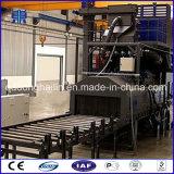 Trasportatore a rulli tramite la macchina di granigliatura per i ricambi auto