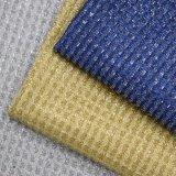 Metallisches Silk Funkeln PU-Leder für Beutel-Schuh