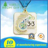 De nieuwe Medaille Van uitstekende kwaliteit van het Metaal van de Toekenning van de Douane van het Ontwerp Schermende