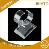 Présentoir acrylique de plancher cosmétique en plastique clair de Pamma avec des tiroirs