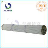 Cartucho de filtro plisado de la cuerda de rosca del poliester