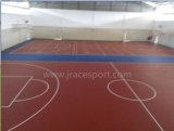 Pavimentazione dell'interno di plastica del campo da pallacanestro (JRace)