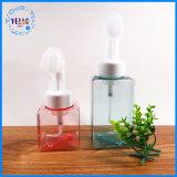 Kosmetische verpackenquadratische Plastikspray-Haustier-Flasche der pumpen-250ml