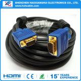 15pin Gold überzogenes blauer SVGA VGA-Adapter-Monitor-männliches Kabel-Netzkabel für PC HDTV