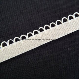 fascia elastica lavorata a maglia Comez della biancheria intima della parte posteriore della peluche del bordo dello smerlo di 14mm
