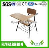 La formación de alta calidad baratos silla con panel de escritura (SF-12F)
