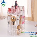 Clear Plexiglass Acrylic Retail Makeup Cosmetic Display Puts