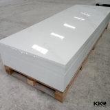 De kunstmatige Zuivere Witte Acryl Stevige Oppervlakte van de Steen