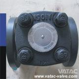 Válvula de verificação de aço forjada do balanço A105/F304/F316