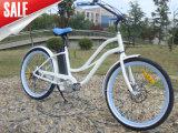 Bici elettrica della spiaggia della bici del nuovo di stile CE dell'OEM per la signora