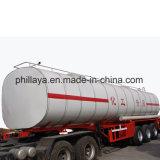 Líquido de 3 ejes remolque remolque semi tanque químico