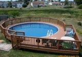 Decking de WPC para o revestimento da natação ao ar livre