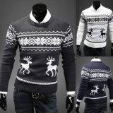 Novo Design de malha de Natal do homem pulôver suéter