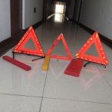 Triángulo reflectante de seguridad ADVERTENCIA LED