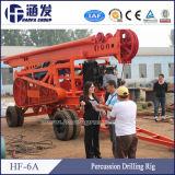 Câble de forage hydraulique Appareil de forage à percussion pour exploiter le minerai