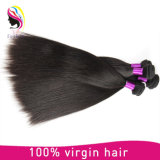 도매 똑바로 8A 브라질 사람의 모발 100%년 Remy 머리 연장